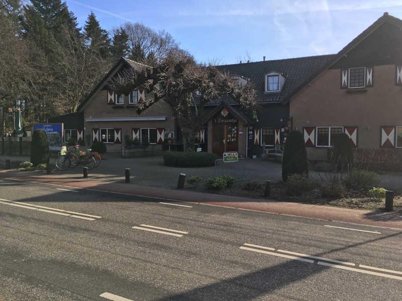 Wandelroute Groesbeek restaurant 't Zwaantje