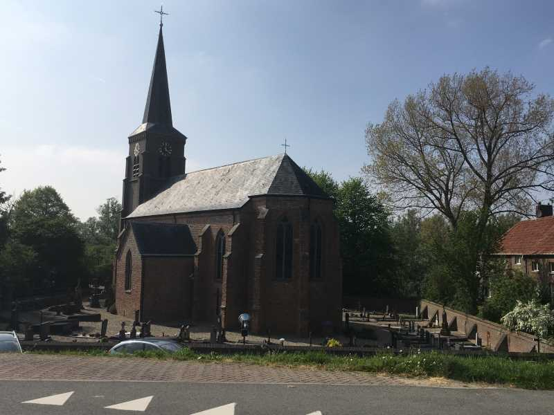 Wandelroute Millingerwaard kerk kekerdom