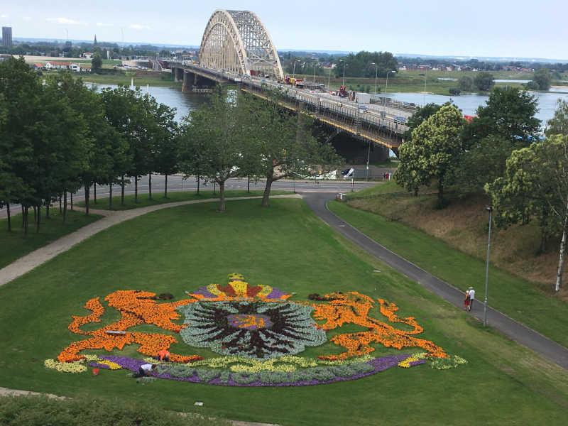 Wandelroute Nijmegen voerweg Belvedere